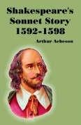 9781410221537: Shakespeare's Sonnet Story 1592-1598