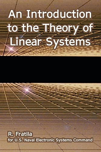 An Introduction to the Theory of Linear: R Fratila, U