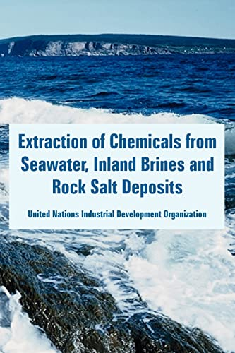 9781410223869: Extraction of Chemicals from Seawater, Inland Brines and Rock Salt Deposits