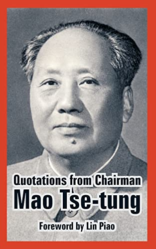9781410224880: Quotations from Chairman Mao Tse-Tung