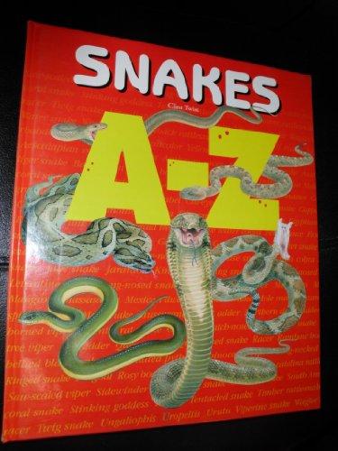 9781410300744: A-Z - Snakes