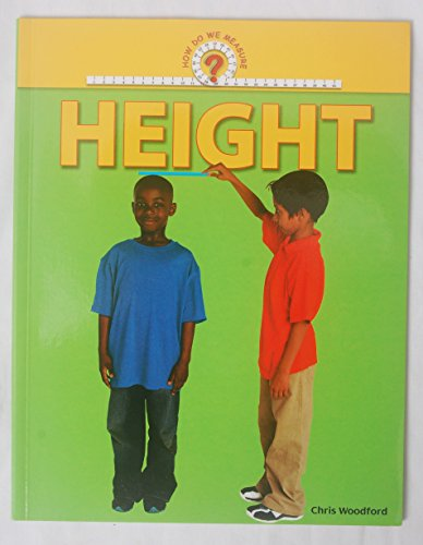 Height (How Do We Measure?): Woodford, Chris