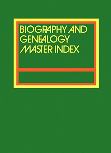 9781410311047: Biography and Genealogy Master Index Supplement: 2017: A Consolidated Index to More Than 300,000 Biographical Sketches in 54 Current and Retrospective Biographical Dictionaries