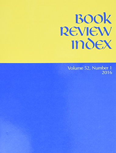 Book Review Index: 2016 Subscription (Paperback)