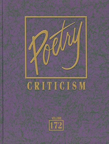 9781410314352: Poetry Criticism: Excerpts from Criticism of the Works of the Mst Significant Ans Widely Studied Poets of World Literature