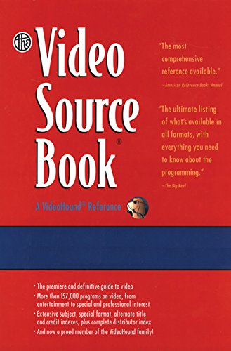 9781410324894: The Video Source Book: A Guide to Programs Currently Available on Video in the Areas of: Moives/Entertainment/ General Interest/ Eucation Sports/Recreation/ Fine Arts/Health