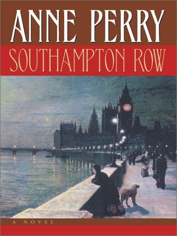 9781410400925: Southampton Row (Walker Large Print Books)