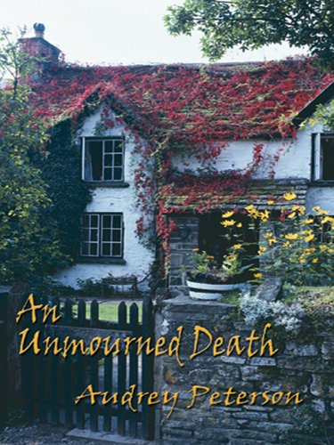 An Unmourned Death (Five Star First Edition Mystery): Peterson, Audrey