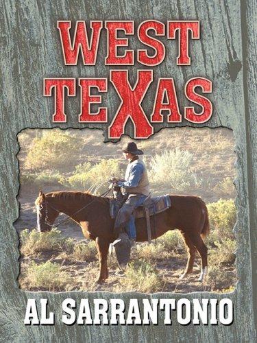 9781410402677: West Texas (Thorndike Large Print Western Series)