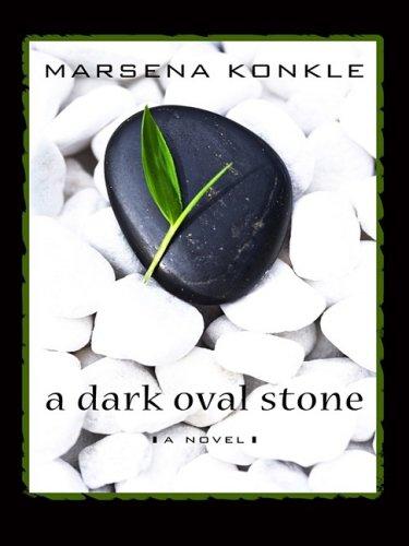 9781410402806: A Dark Oval Stone (Thorndike Press Large Print Clean Reads)