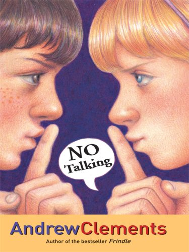 9781410402943: No Talking (Thorndike Literacy Bridge Middle Reader)