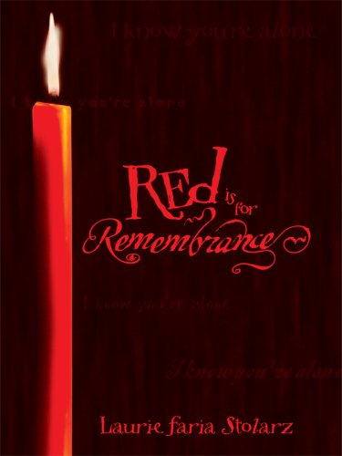 Red Is for Remembrance (Thorndike Literacy Bridge: Stolarz, Laurie Faria