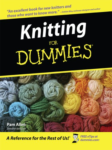 9781410403995: Knitting for Dummies (Thorndike Large Print Health, Home and Learning)