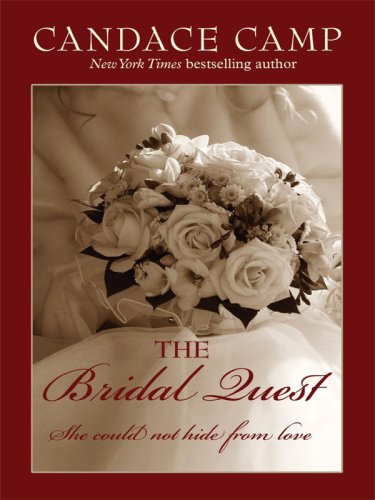 9781410404152: The Bridal Quest (Thorndike Press Large Print Core Series)