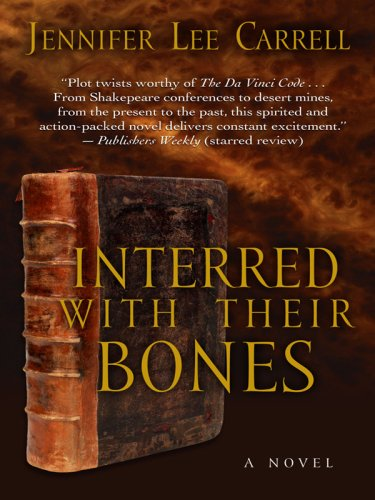 9781410404190: Interred with Their Bones (Thorndike Press Large Print Mystery Series)