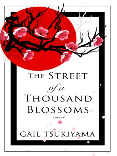 9781410404763: The Street of a Thousand Blossoms (Thorndike Press Large Print Basic Series)