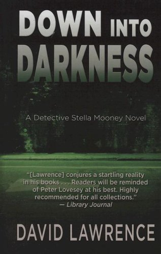 9781410405968: Down into Darkness (Thorndike Press Large Print Mystery Series)