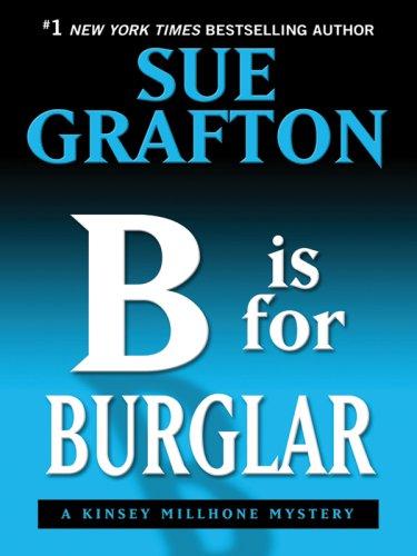 9781410406828: B Is for Burglar (Thorndike Press Large Print Famous Authors Series)