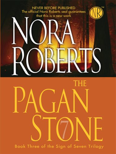9781410407283: The Pagan Stone (Thorndike Press Large Print Core Series: The Sign of Seven Trilogy)