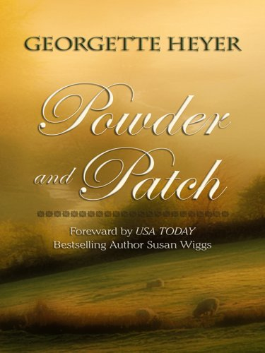 9781410408341: Powder and Patch (Thorndike Press Large Print Clean Reads)