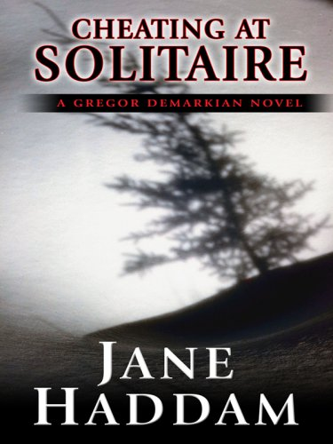 Cheating at Solitaire (Thorndike Mystery): Haddam, Jane