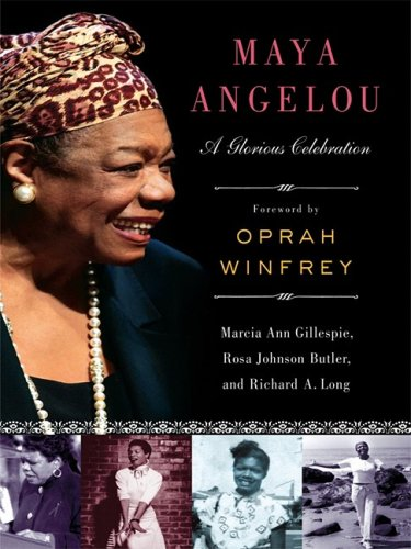 9781410409836: Maya Angelou: A Glorious Celebration (Thorndike African-American)