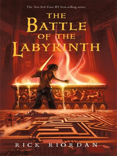 9781410410184: The Battle of the Labyrinth (Percy Jackson and the Olympians, Book 4)