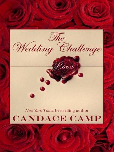 9781410411044: The Wedding Challenge (Thorndike Press Large Print Core Series)
