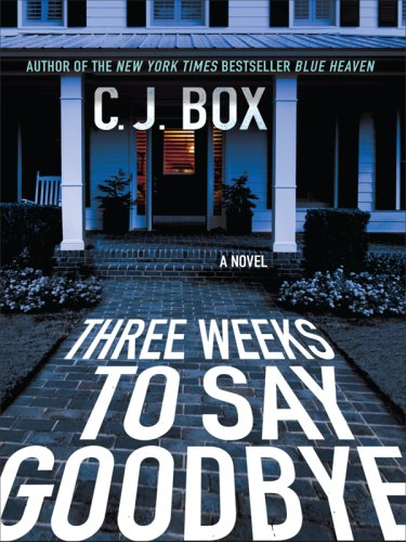 9781410411570: Three Weeks to Say Goodbye (Thorndike Press Large Print Basic Series)