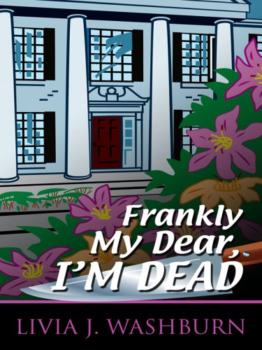 9781410412829: Frankly My Dear, I'm Dead (Thorndike Press Large Print Mystery Series)