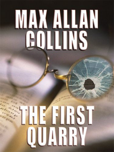 9781410413871: The First Quarry (Thorndike Press Large Print Mystery Series)