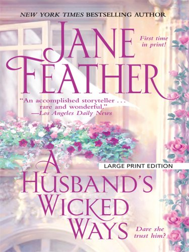 9781410414441: A Husband's Wicked Ways (Thorndike Press Large Print Core Series)