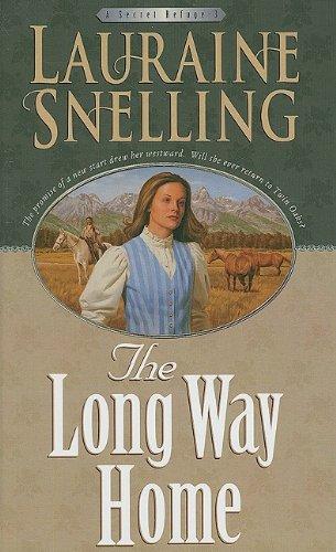 9781410414595: The Long Way Home (Thorndike Press Large Print Christian Historical Fiction; Secret Refuge)