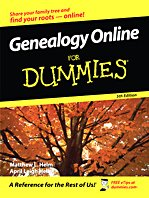 9781410415462: Genealogy Online for Dummies (Thorndike Large Print Health, Home and Learning)