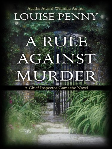 9781410416636: A Rule Against Murder (Thorndike Press Large Print Mystery Series)