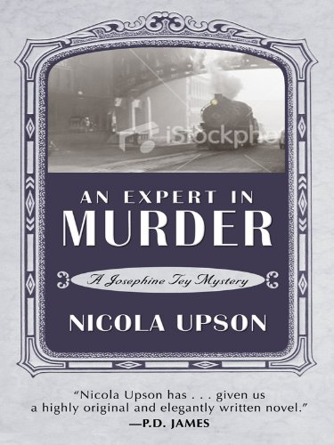 9781410416759: An Expert in Murder: A New Mystery Featuring Josephine Tey (Thorndike Reviewers' Choice)