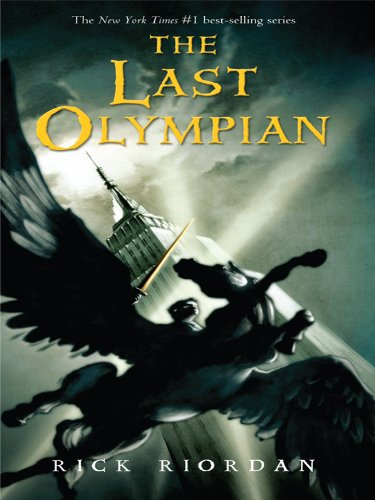 9781410416780: The Last Olympian (Thorndike Press Large Print Literacy Bridge Series)
