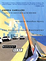 August Heat (Kennebec Large Print Superior Collection): Camilleri, Andrea