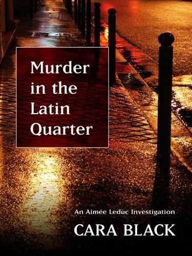 9781410417466: Murder in the Latin Quarter (Thorndike Press Large Print Mystery Series)
