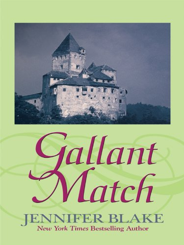 9781410418203: Gallant Match (Master at Arms: Thorndike Press Large Print Romance Series)