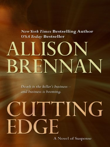 9781410419088: Cutting Edge: A Novel of Suspense (Basic)