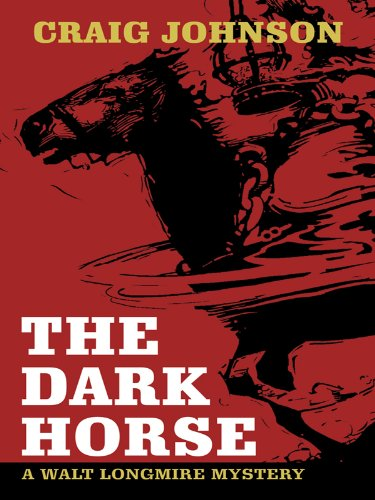 9781410419415: The Dark Horse (Thorndike Large Print Crime Scene)