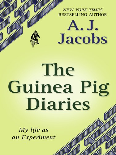 9781410420817: The Guinea Pig Diaries: My Life as an Experiment (Thorndike Core)