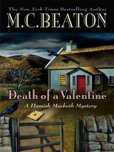 9781410420879: Death of a Valentine (Wheeler Large Print Book Series)