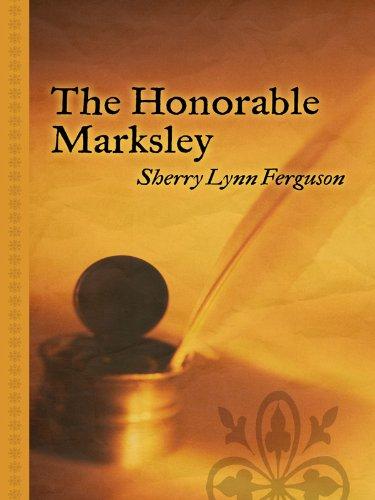 9781410421135: The Honorable Marksley (Thorndike Gentle Romance)
