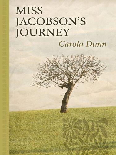 9781410421142: Miss Jacobson's Journey (Thorndike Gentle Romance)