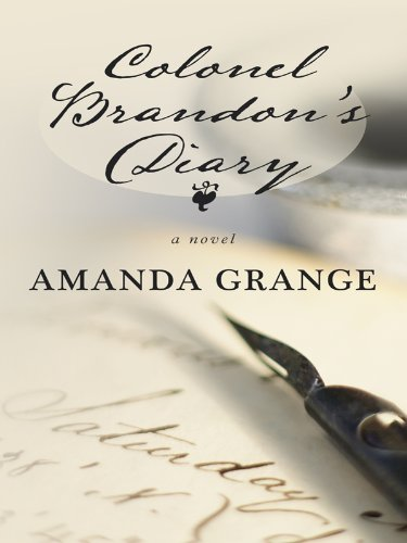 9781410421524: Colonel Brandon's Diary (Thorndike Press Large Print Clean Reads)