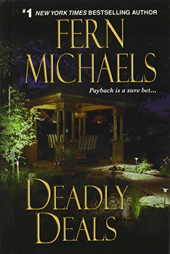 Deadly Deals (Sisterhood Series) 9781410421975 A #1 New York Times Bestselling Author -- Rachel Dawson and her husband?s dreams came true the day they brought home their newly adopted twin babies. Until the birth mother reappears, first demanding more money, then the twins themselves. Suddenly their lawyer, who had charged a hefty six-figure fee to arrange the surrogate, was nowhere to be found. Attorney Lizzie Fox couldn?t wait to take the case -- this was just the kind of crime that got the Sisterhood?s adrenalin flowing.