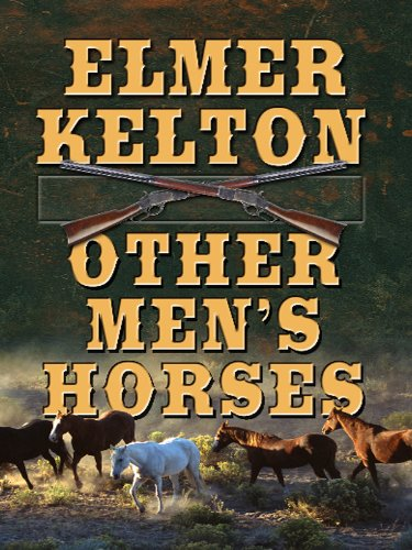 9781410422354: Other Men's Horses (Thorndike Large Print Western Series)