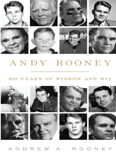9781410422842 Andy Rooney 60 Years Of Wisdom And Wit Thorndike